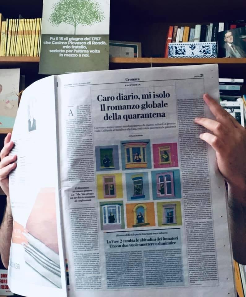 romanzo globale quarantena